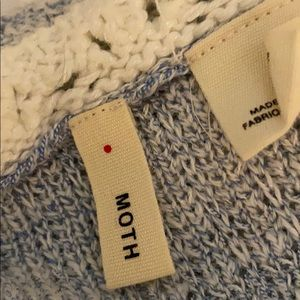 Moth tank top knit s